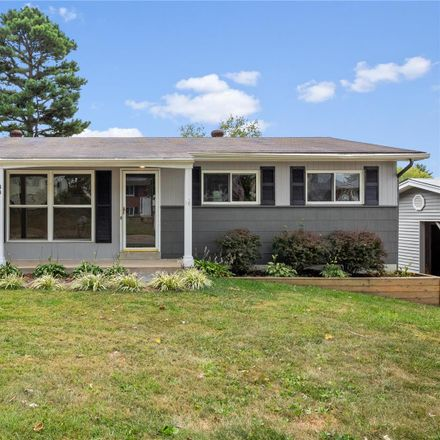 Rent this 3 bed house on 38 Hillcrest Blvd in Ballwin, MO