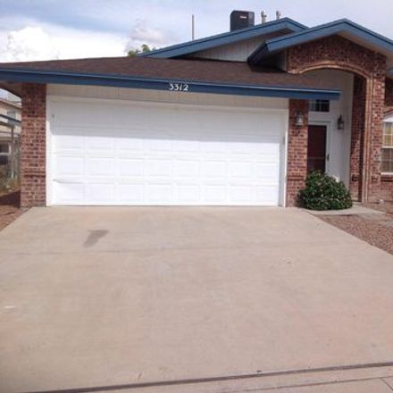 Rent this 3 bed apartment on Pendleton Street in El Paso, TX 79998