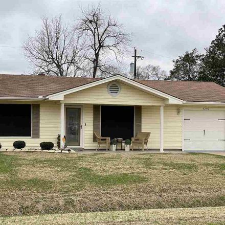 Rent this 3 bed house on 5290 Berard Circle in Beaumont, TX 77705