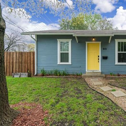Rent this 2 bed house on 901 Everts St in Dallas, TX