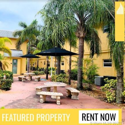 Rent this 1 bed apartment on 4071 North Dixie Highway in Coral Woods, FL 33334