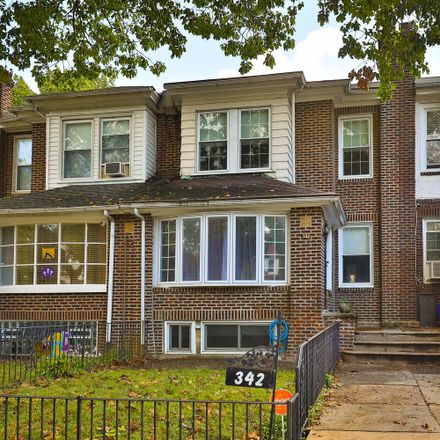 Rent this 3 bed townhouse on 342 East Hortter Street in Philadelphia, PA 19119