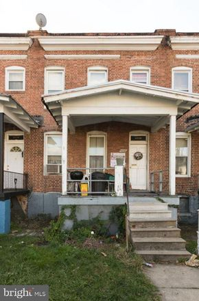 Rent this 3 bed townhouse on 4638 Pall Mall Road in Baltimore, MD 21215