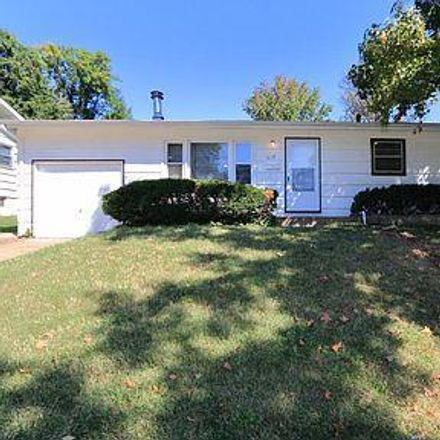 Rent this 3 bed house on 1019 Renshaw Drive in Ferguson, MO 63135
