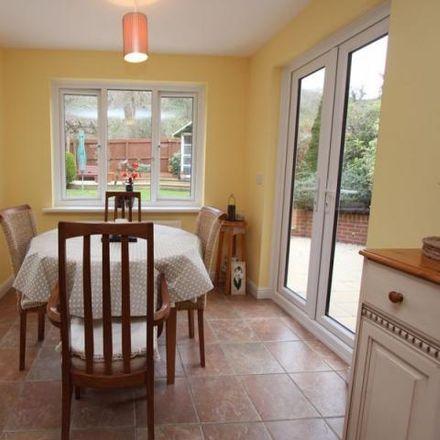 Rent this 4 bed house on Maes y gwenyn in Rhoose CF62 3LA, United Kingdom