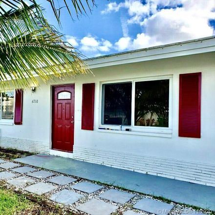 Rent this 2 bed house on 6710 Northwest 73rd Street in Tamarac, FL 33321