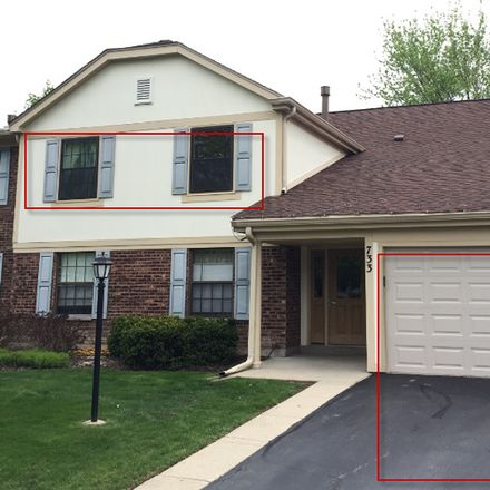 Rent this 2 bed townhouse on Plumtree Ct in Wheeling, IL