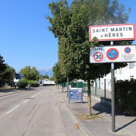 Rent this 3 bed apartment on 21 Rue Toulouse Lautrec in 38400 Saint-Martin-d'Hères, France