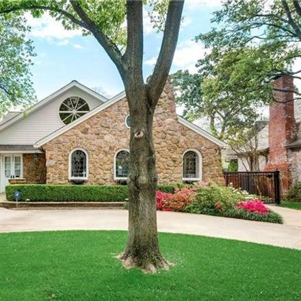 Rent this 3 bed house on 4505 Edmondson Avenue in Highland Park, TX 75205