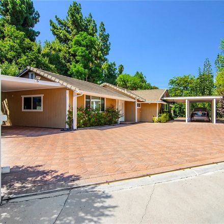 Rent this 5 bed house on 4955 Topeka Drive in Los Angeles, CA 91356