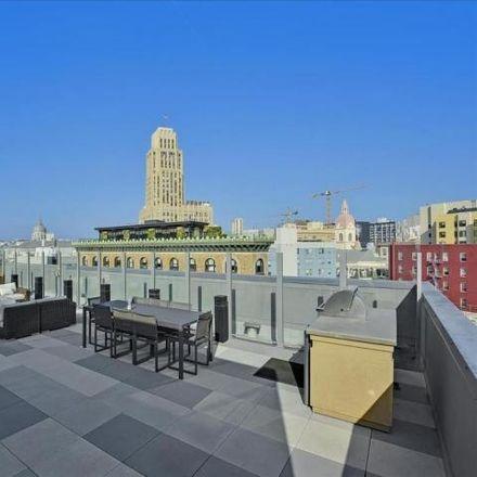 Rent this 1 bed condo on Market Street Cinema in Stevenson Street, San Francisco