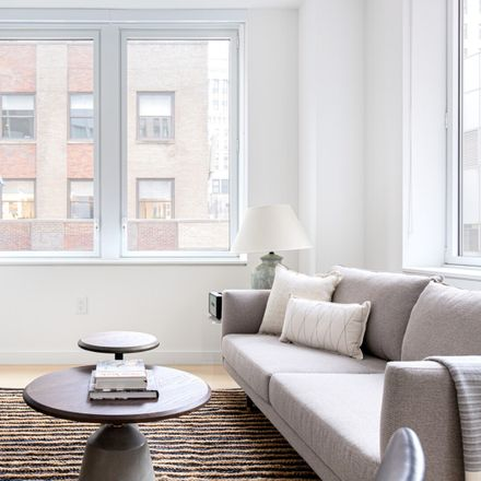Rent this 1 bed apartment on Wall Street in Exchange Place, New York