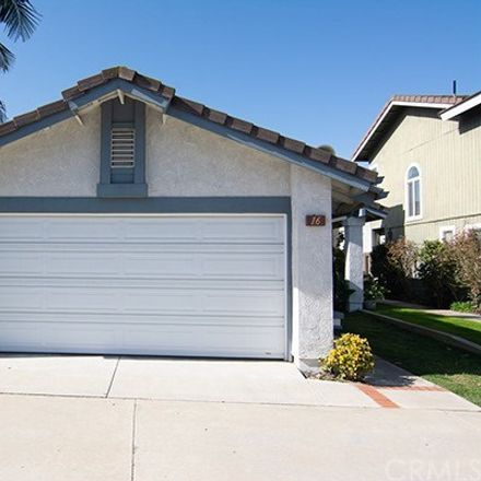 Rent this 3 bed house on 16 Hazelnut in Irvine, CA 92614