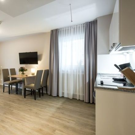 Rent this 1 bed apartment on Ottobrunner Straße 12a in 81737 Munich, Germany