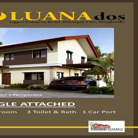 Rent this 3 bed house on Petron Tunghaan Minglanilla in Natalio Bacalso Avenue, Minglanilla
