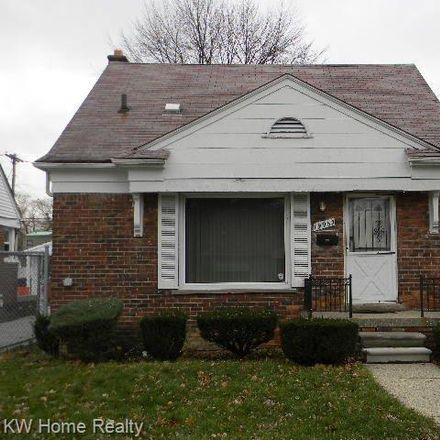 Rent this 3 bed house on 19965 Cooley Street in Detroit, MI 48219