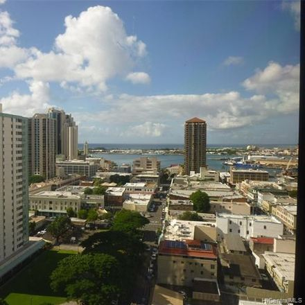 Rent this 1 bed condo on Honolulu Tower in 60 North Beretania Street, Honolulu