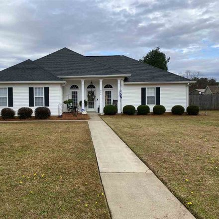 Rent this 3 bed house on Loxley Dr in Warner Robins, GA