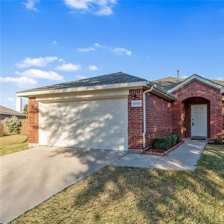 Rent this 3 bed house on 13750 Trail Stone Lane in Fort Worth, TX 76052