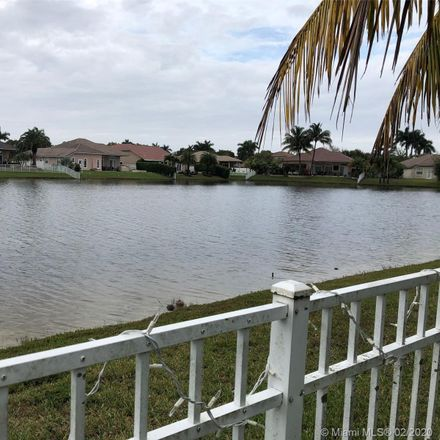 Rent this 5 bed house on 1072 Northwest 139th Terrace in Pembroke Pines, FL 33028
