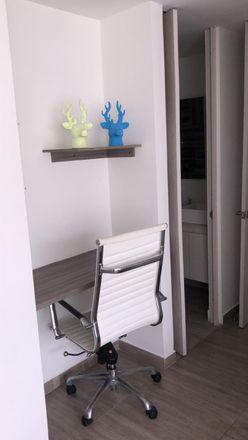 Rent this 1 bed apartment on Carrera 40B in Comuna 14 - El Poblado, Medellín