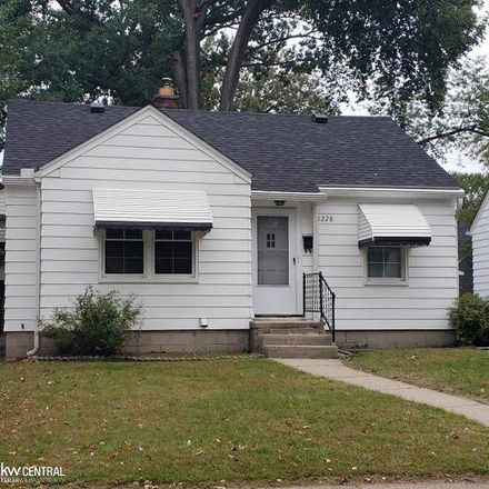 Rent this 2 bed house on Wyandotte Ave in Royal Oak, MI