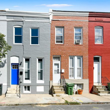 Rent this 3 bed townhouse on 2631 Boone Street in Baltimore, MD 21218