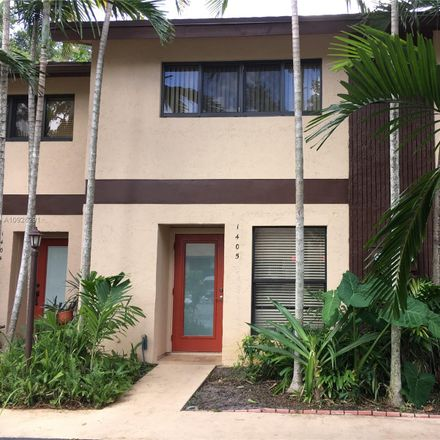 Rent this 2 bed townhouse on South Oakland Forest Drive in Rock Island Village, FL 33309
