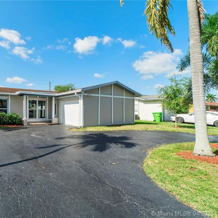 Rent this 3 bed house on 11390 Northwest 39th Place in Sunrise, FL 33323