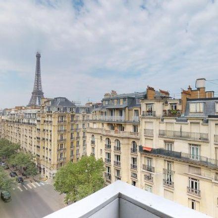 Rent this 2 bed apartment on 76 bis Avenue de Suffren in 75015 Paris, France