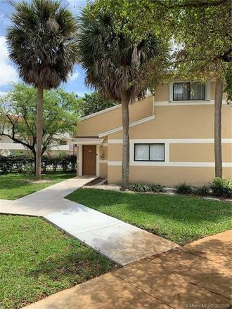 Rent this 3 bed apartment on 353 Palm Way in Pembroke Pines, FL 33025