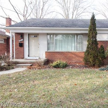 Rent this 3 bed house on 24493 Roanoke Avenue in Huntington Woods, MI 48237