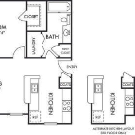 Rent this 1 bed apartment on Bexley Commons at Rosedale Apartments in Reese Boulevard, Huntersville