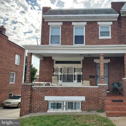 Rent this 3 bed townhouse on 4339 Sheldon Avenue in Baltimore, MD 21206