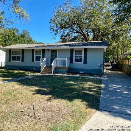Rent this 3 bed house on 2826 Spokane Road in San Antonio, TX 78222