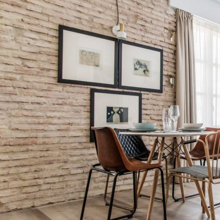 Rent this 1 bed apartment on Carrer dels Aluders in 46001 Valencia, Spain