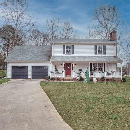 Rent this 3 bed house on 112 Wyatt Oaks Ct in Easley, SC