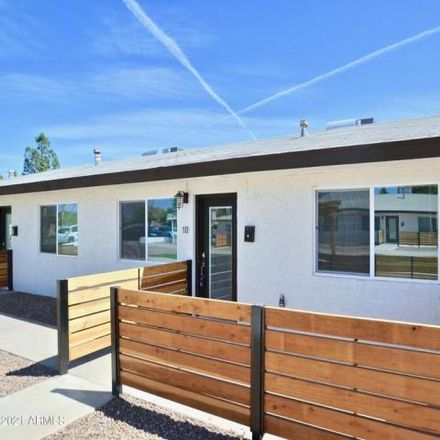 Rent this 1 bed condo on 318 North Hartford Street in Chandler, AZ 85225