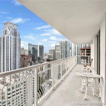 Rent this 3 bed condo on The Arketekt by Aficionados in 1200 Brickell Bay Drive, Miami