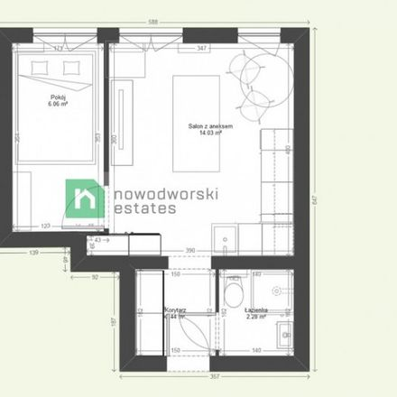 Rent this 2 bed apartment on Stefana Batorego 41 in 80-255 Gdansk, Poland