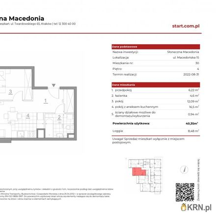 Rent this 2 bed apartment on Macedońska 6 in 30-626 Krakow, Poland