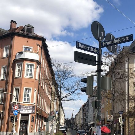 Rent this 2 bed apartment on Baaderstraße 84 in 80469 Munich, Germany