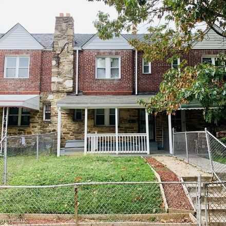 Rent this 3 bed apartment on 5108 Woolverton Avenue in Baltimore, MD 21215