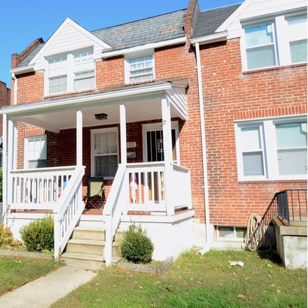 Rent this 3 bed townhouse on 5152 Stafford Road in Baltimore, MD 21229
