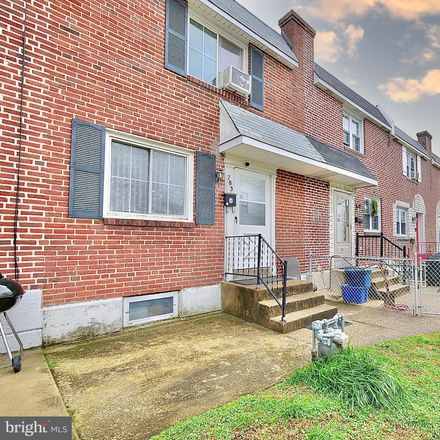 Rent this 3 bed townhouse on 783 Bennington Road in Folcroft, PA 19032