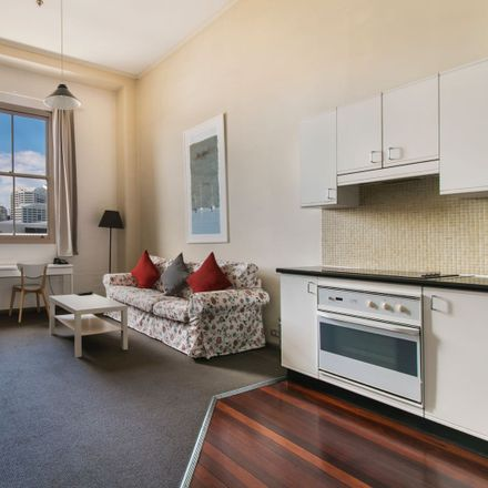 Rent this 1 bed apartment on 856/243 Pyrmont Street