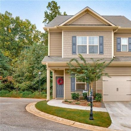 Rent this 3 bed townhouse on 853 Ash Street in Holly Springs, GA 30114