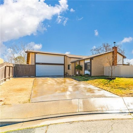Rent this 3 bed house on 3006 Knewood Court in Lancaster, CA 93536
