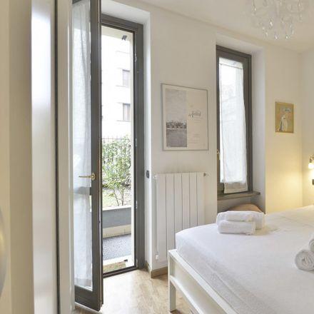 Rent this 1 bed apartment on Via Giovita Scalvini in 20158 Milan Milan, Italy