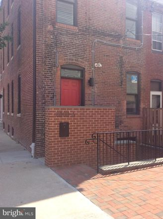 Rent this 1 bed apartment on N Calvert St in Baltimore, MD